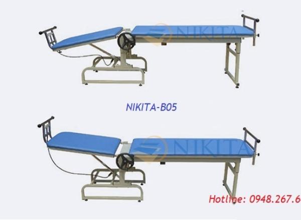 Giường kéo giãn cột sống mới có thể nâng hạ đầu NIKITA-B05